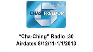 Chase Freedom Cha-Ching Radio Spot :30