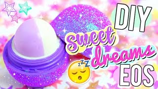 DIY Glitter Sleep Balm EOS! Sleep Easy With NO Drugs!