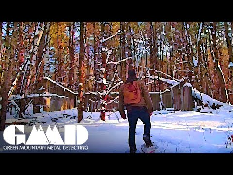 Discovery & Exploration of Abandoned Religious Camp Ruins | Snowshoe Adventure