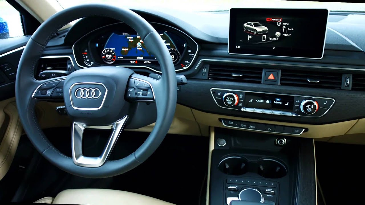 The new audi a4 interior design automototv youtube for Lederen interieur audi a4