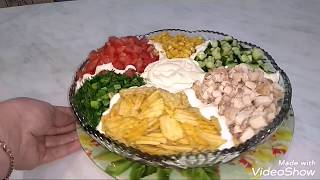 Салат Радуга