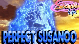 ROBLOX Shinobi Life - Madara's Perfect Susanoo