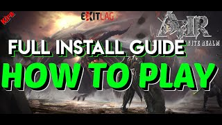Ascent Infinite Realm How to Play Guide | VPN, English Patch, Beta code, Install