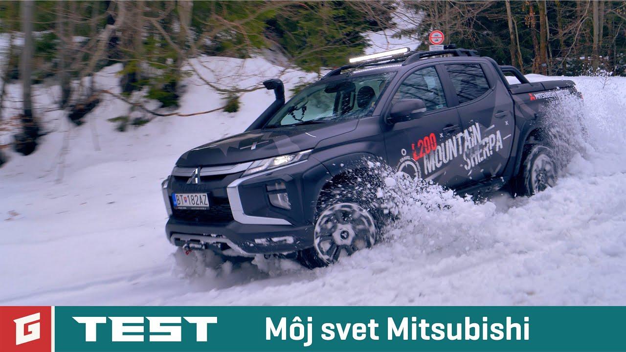 "Mitsubishi L200 4WD ""Mountain Sherpa"" - TEST - OFFROAD - GARAZ.TV"