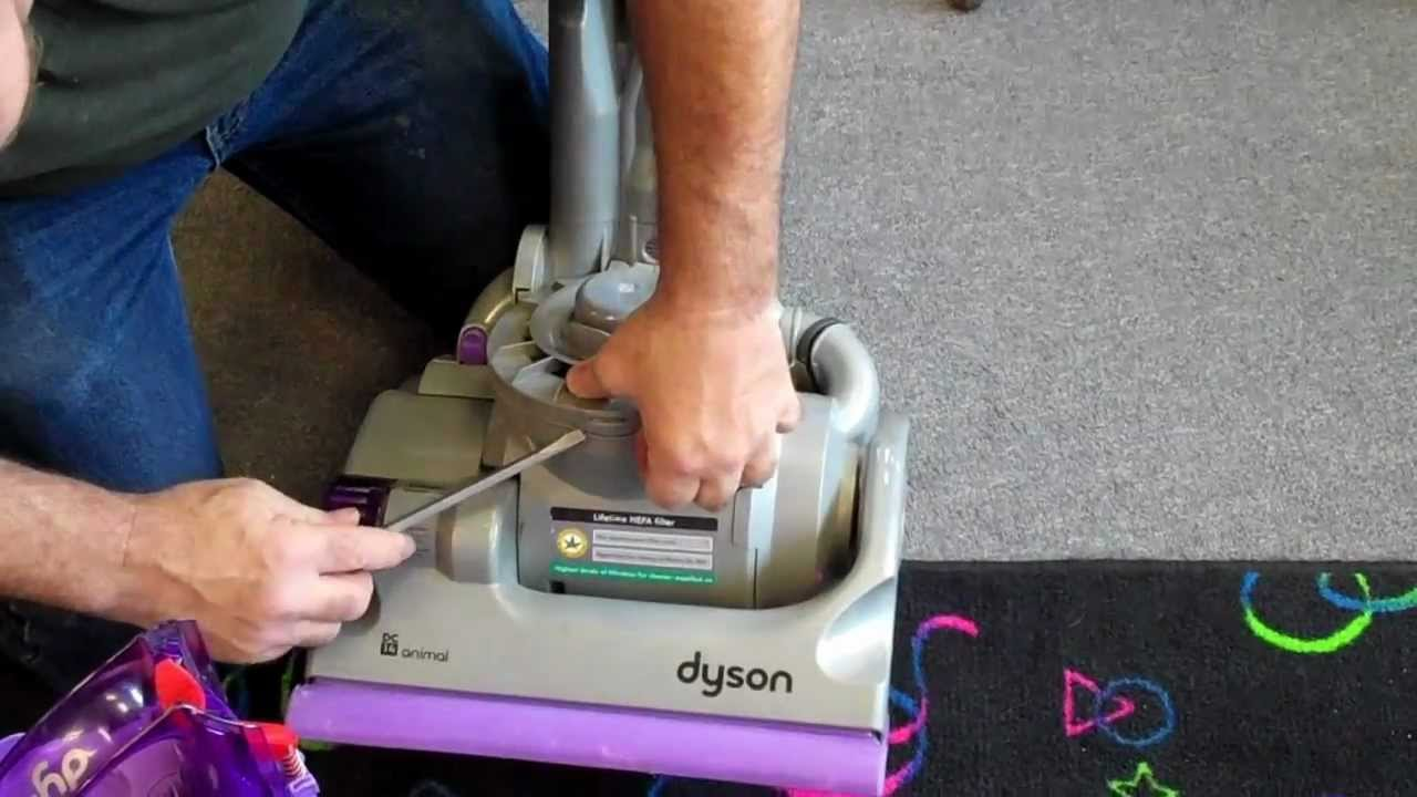 How To Check Belt Repair Unclog Clean Filters Dyson Animal Vacuum