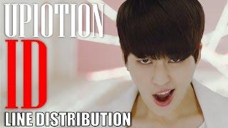 Video UP10TION - ID (Line Distribution / Color Coded) download MP3, 3GP, MP4, WEBM, AVI, FLV Januari 2018