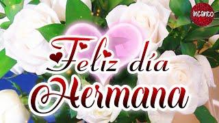 Feliz día de la madre hermana 🎁 TE QUIERO ❤️ Un lindo mensaje para ti en el día de las madres