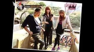 [Eng Sub] Yoon Eun Hye 윤은혜 & Park Han Byul on.tvN.Taxi 03.03.2011 - Part 2