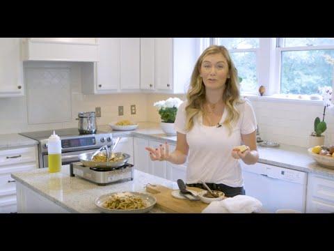 Inside Katie's Kitchen: Garlic Butter Bucatini