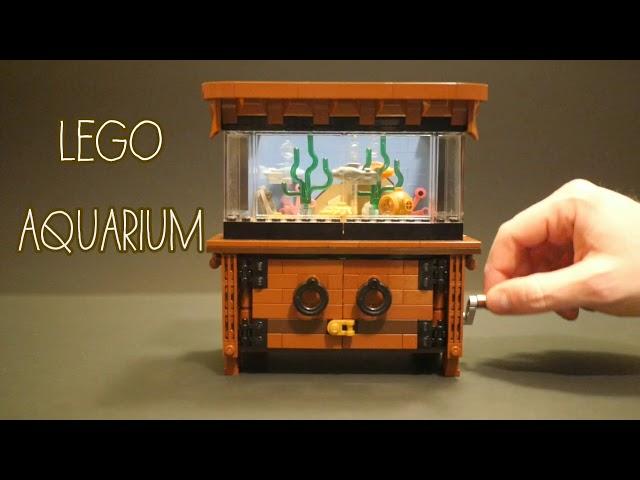 Incredible Lego Clockwork Aquarium