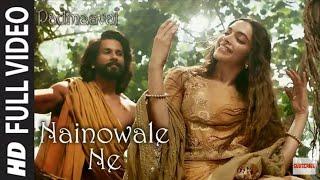Padmaavat - Naino Wale Ne Video Song - Deepika Padukone | Shahid Kapoor | Ranveer Whatsapp Status