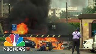 Heavy Gunfire Follows Explosion As Attack Launched On Upscale Complex In Nairobi | NBC News