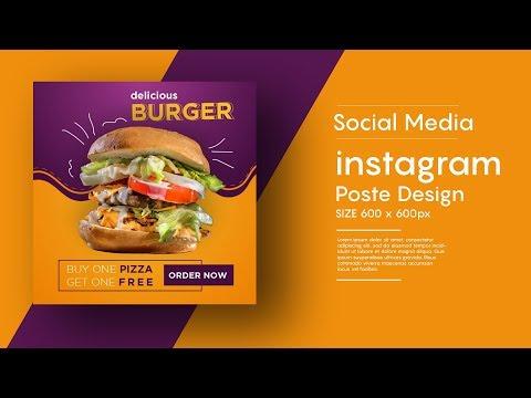 Instagram Post Design | Social Media Banner Design In Adobe Illustrator Cc