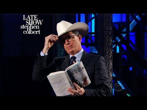 A Monologue From Stephen Colbert As Rex Tillerson As Wayne Tracker