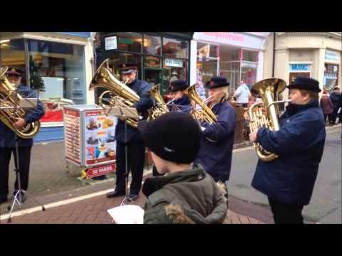 Salvation Army Band Christmas Carols - Silent Night