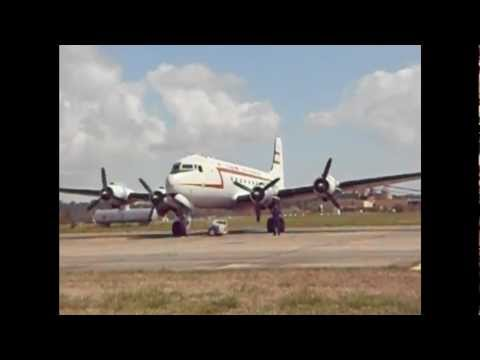 C-54 Skymaster Start-up and Take-off