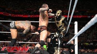 Goldust vs. Randy Orton & Batista - No Holds Barred Handicap Match: Raw, May 26, 2014 thumbnail
