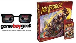 Keyforge: Call of the Archons Full Play through with the Game Boy Geek & Greg Dickson