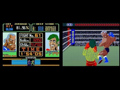 Super Punch-Out!! (Arcade) - High Score World Record [1,917,800 points]