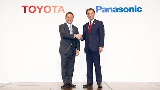 Toyota and Panasonic to Start Feasibility Study of Joint Automotive Prismatic Battery Business thumbnail