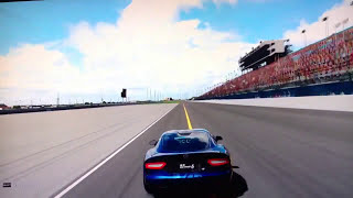 Gran Turismo 6 Gameplay PS3 - Dodge Viper SRT 15th Anniversary Race At Daytona