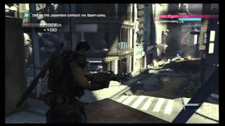 Binary Domain (PS3) SIngle Player Demo Gameplay