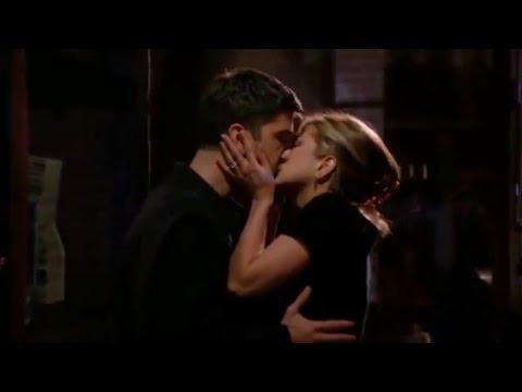 best romantic & kissing scenes from friends, rose & rachel