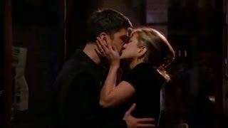best romantic & kissing scenes from friends, rose & rachel