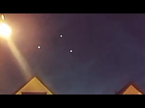 UFOs Sighted Over Cleveland, Ohio ( August 4, 2018 )