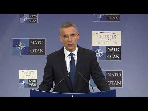 NATO Secretary General press conference, 24 May 2017