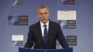 NATO Secretary General press conference, 24 May 2017
