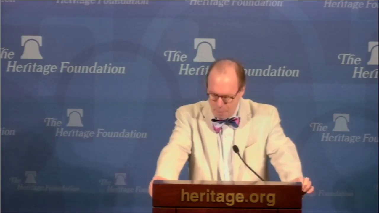 Roger Kimball at The Heritage Foundation