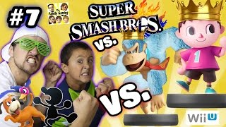 Dad & Son vs. Level 50 BOSS Amiibo !! Duck Hunt + Mr. Game & Watch (Super Smash Bros Wii U Part 7)