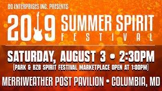 SUMMER SPIRIT FESTIVAL August 3rd