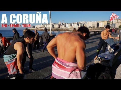 Surfeando por A CORUÑA | TFB·SPAIN·TOUR (9)