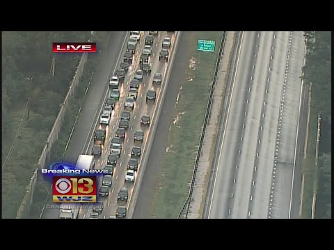 Down Power Wire Shuts Down I-83