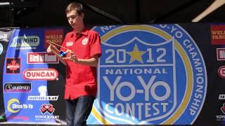 1A Semi-Finals Isaac Sams - 2012 National Yo-Yo Contest - Presented By Duncan Toys