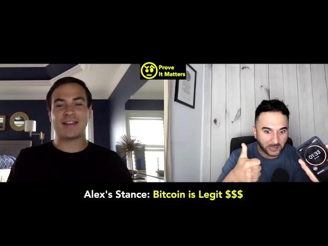 Is Bitcoin Legit? - Prove It Matters (Ft. Alex Adelman (CEO of Lolli) (By Leo Morejon)