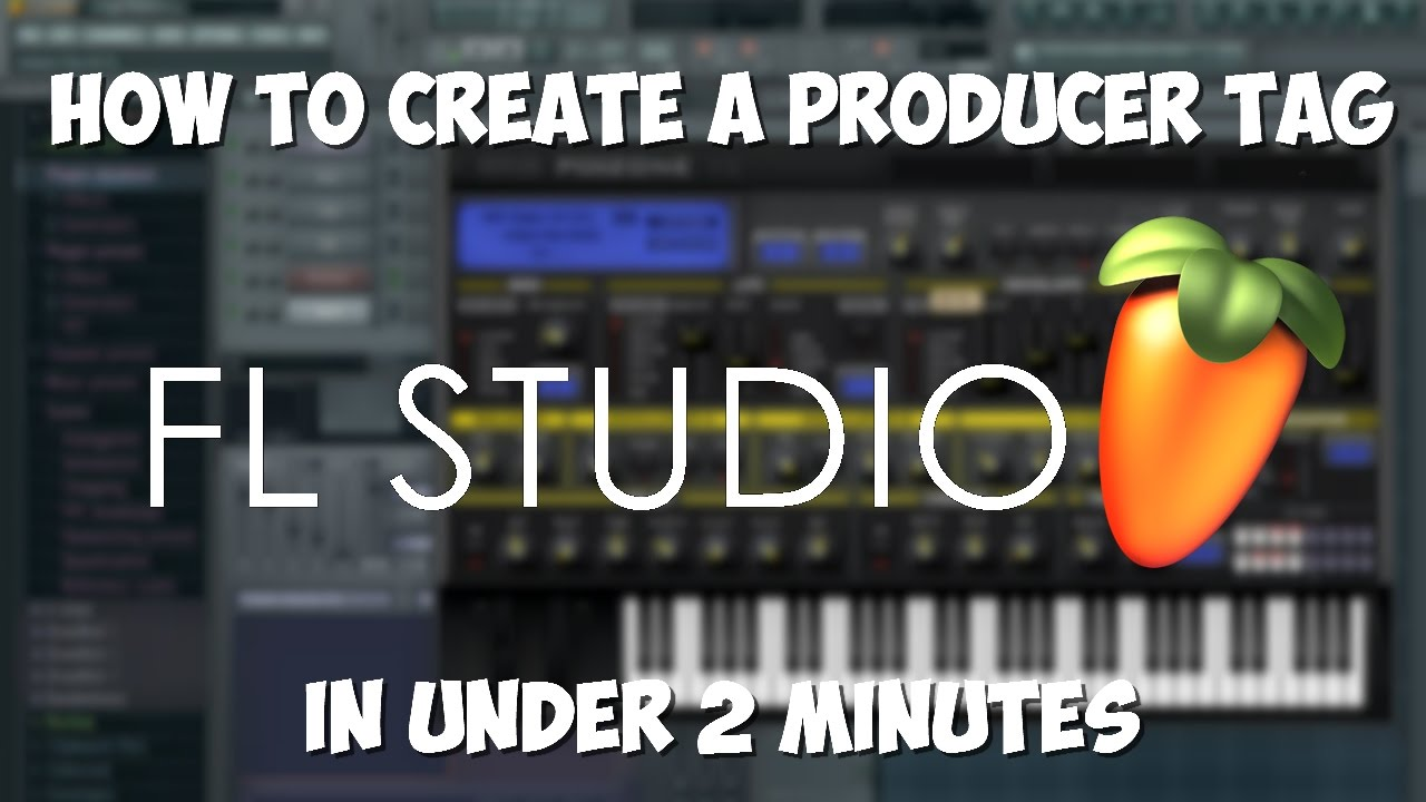 HOW TO MAKE A PRODUCER TAG IN UNDER 2 MINUTES!!!