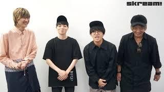 """BLUE ENCOUNT、新ユニット""""トリプルキャップス""""登場!?ニュー・シングル『FREEDOM』リリース―Skream!動画メッセージ"""