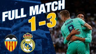Valencia 1-3 Real Madrid | Supercopa de España 2019-20 semi-final | FULL MATCH