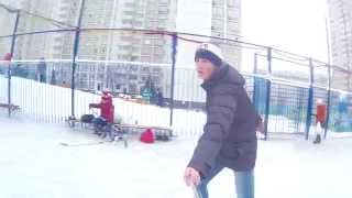 VLOG - Играем в Хоккей (Сделано в IMovie)