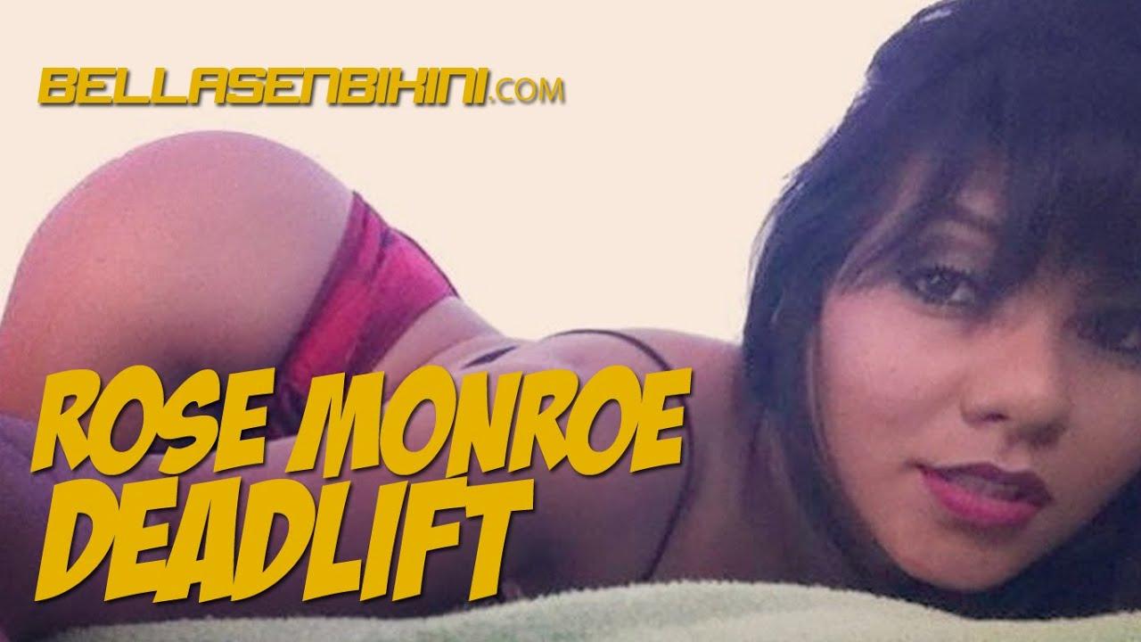 Venezolanische Schönheit mit perfekten Kurven Rose Monroe ist ein guter Hahn-Reiter