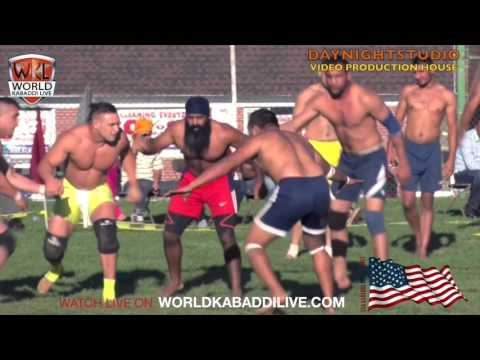 FATEH SPORTS CLUB VS CANADA WEST VANCOUVER KABADDI TEAM SECOND SEMIFINAL MATCH