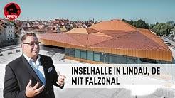 Inselhalle Lindau – Umgestaltung und Renovierung mit PREFA