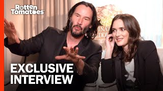 Keanu Reeves and Winona Ryder are Huge Fans of Each Other | 'Destination Wedding' Interview