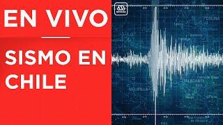 Temblor de magnitud 5.8 afecta a la zona central de Chile