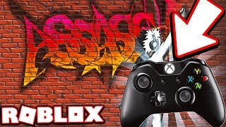 PLAYING ROBLOX ASSASSIN WITH AN XBOX CONTROLLER!!