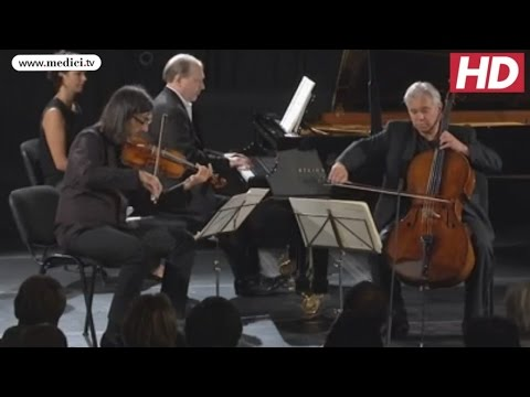Leonidas Kavakos with Clemens Hagen and Marc-André Hamelin - Mendelssohn, Trio No. 1