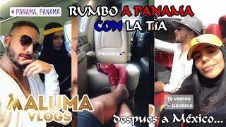 Maluma y su tía rumbo a Panama / Ocurrencias de Maluma en casa | MalumaVlogs